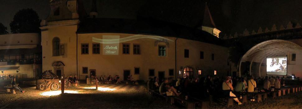 Letné kino na hradnom nádvorí 2013