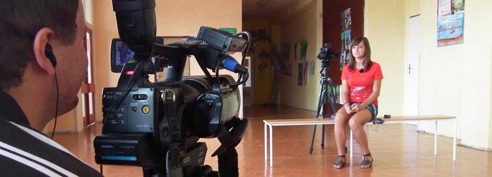 Natáčame interview